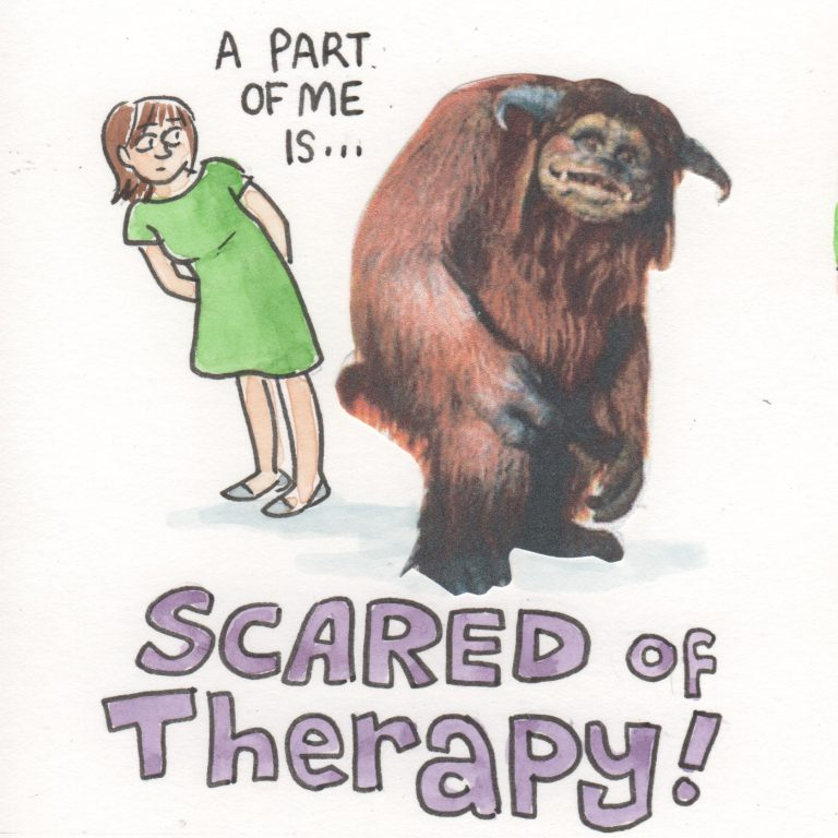 Scared of Therapy